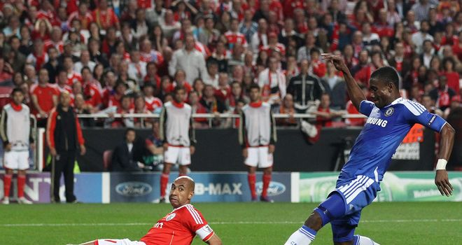 Salomon Kalou: Scored a crucial away goal for Chelsea in their first-leg win at Benfica