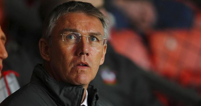 Nigel Adkins: Southampton manager hoping his side go three points ahead at the top