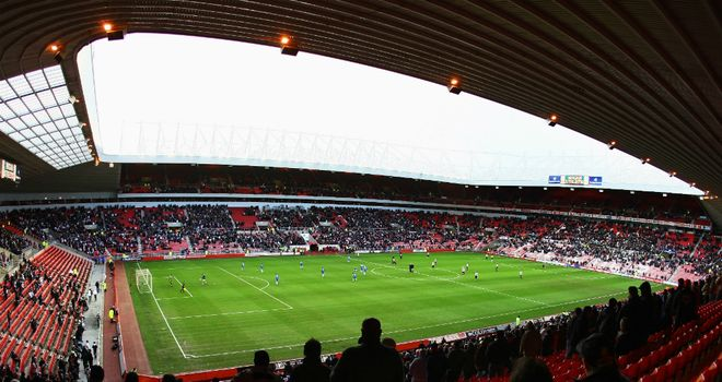 Stadium of Light: Reduced allocation for Middlesbrough