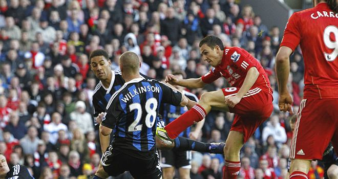 Stewart Downing: Hailed his winner against Stoke as the highlight of his Liverpool career