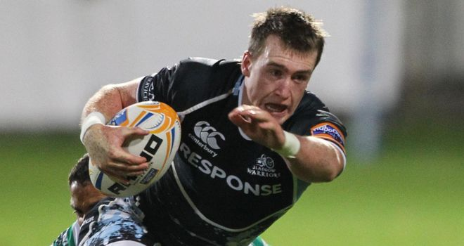 Stuart Hogg: hampered by the injury ever since Scotland's tour of Australasia
