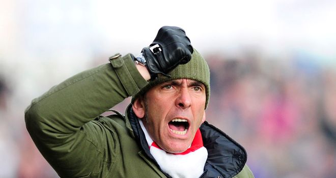 Paolo Di Canio: Has Swindon closing in on promotion out of League Two