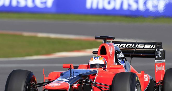 Timo Glock: Thinks Melbourne will be a step into the unknown for Marussia