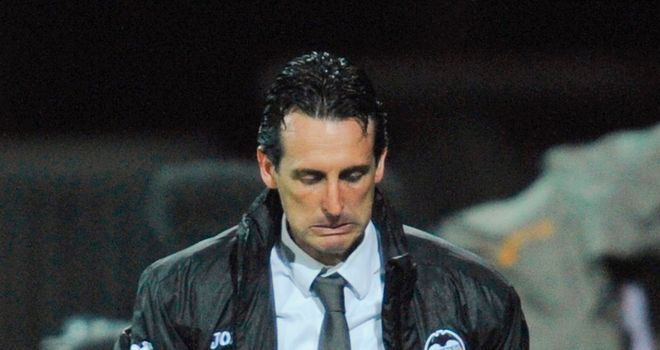 Unai Emery: Sacked as Spartak Moscow coach