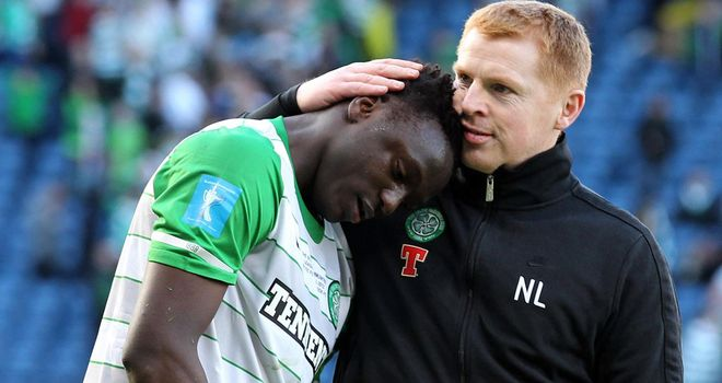 Neil Lennon: Not happy with Wanyama's comments
