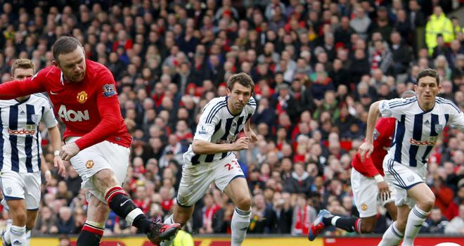 Wayne Rooney: Dispatched another penalty against West Brom on Sunday