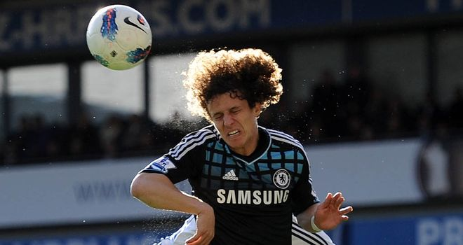 David Luiz: Ready for Chelsea finish