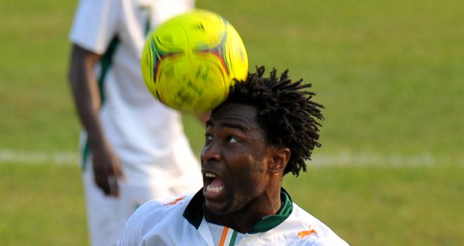 Wilfried Bony: Netted leveller for Ivory Coast
