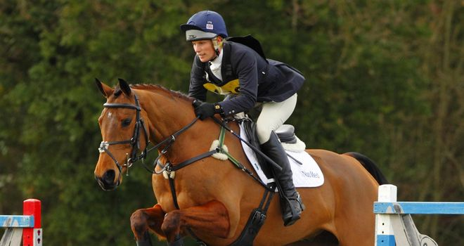 Zara Phillips: The 2006 world champion has made a solid start to the season.