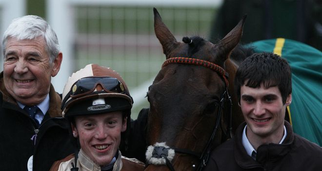 Attaglance with winning jockey Harry Haynes