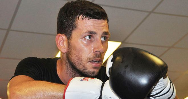 Darren Barker: set to return to the ring for the first time since October 2011
