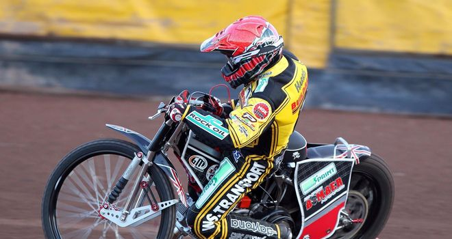 Chris Harris: Led the way for Coventry in their victory over Lakeside