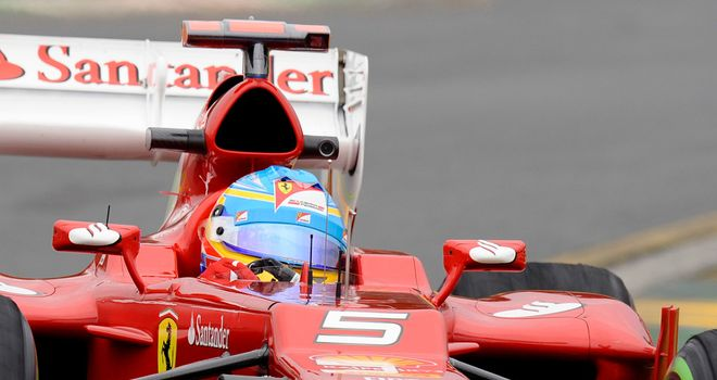Fernando Alonso: Was fourth quickest in both of Friday's practice sessions
