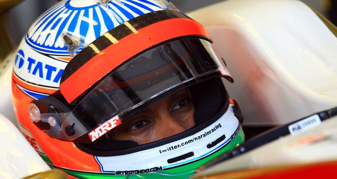 Narain Karthikeyan: Stewards agreed with Vettel