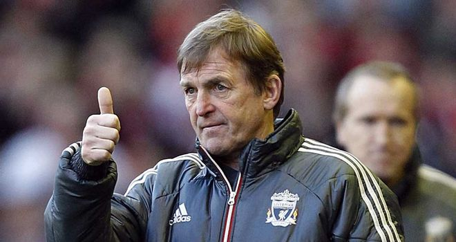 Kenny Dalglish: Liverpool manager turns his attentions to the Premier League