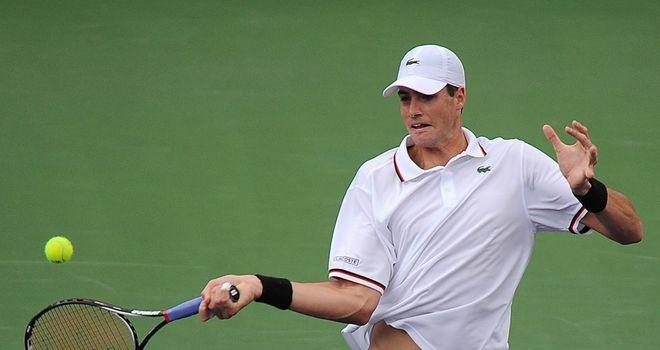 John Isner: Won in straight sets against Nicolas Mahut