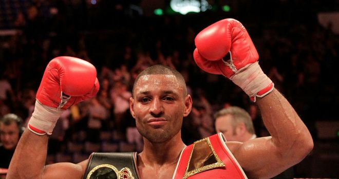 Kell Brook: Returns to the Motorpoint Arena on July 7 (pic lawrence lustig)
