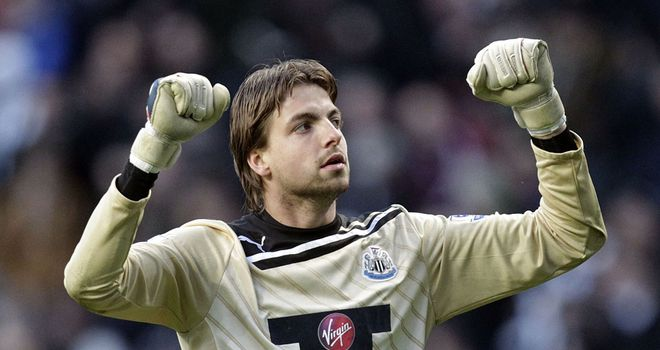 Tim Krul: Newcastle goalkeeper has enhanced his reputation with some excellent displays