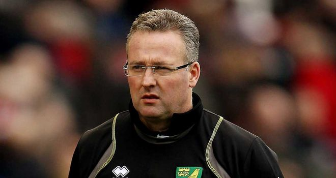 Paul Lambert: Hopeful his Norwich side can get over line