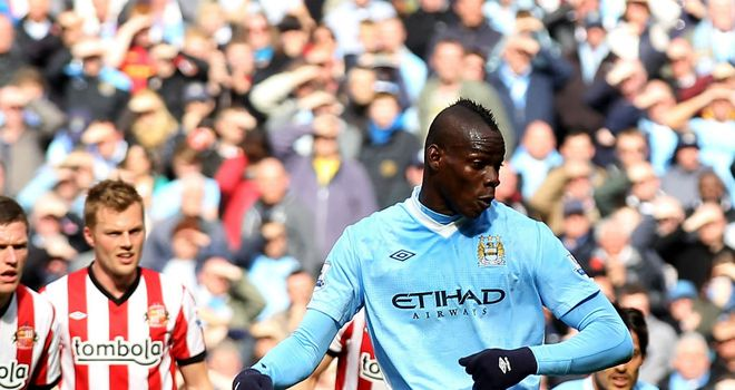 Mario Balotelli: Has been making the front pages of newspapers in Britain