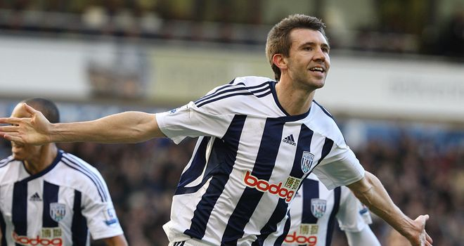 Gareth McAuley: Enjoying playing for West Brom and not thinking too much about his contract