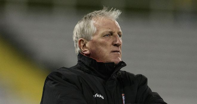 Ronnie Moore: Not happy with Parky