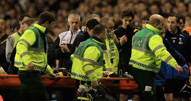 Fabrice Muamba: The midfielder suffered a cardiac arrest at Tottenham in March