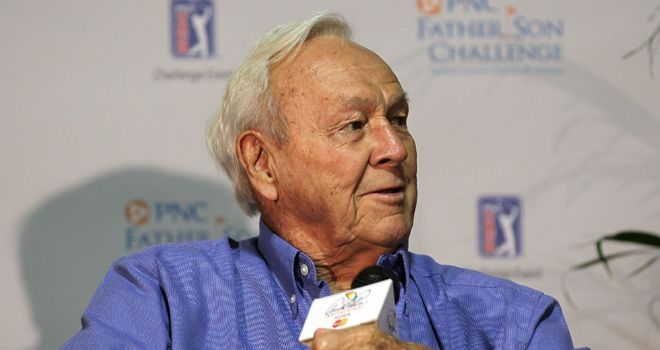 Arnold Palmer: Not going to pressure Rory McIlroy