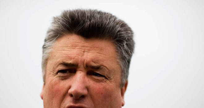 Paul Nicholls: Two entries in Aintree feature as he looks to hold onto his crown