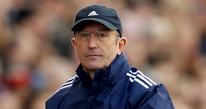 Tony Pulis: Targeting a winning finish to the season against Bolton on Sunday