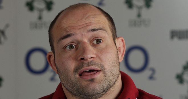 Rory Best: has captained Ireland twice before, both occasions coming in the summer of 2009
