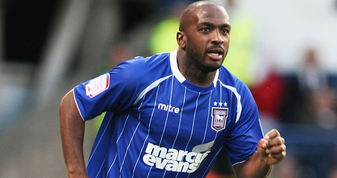 Jason Scotland: Has agreed a new one-year deal at Ipswich