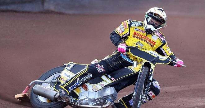 Scott Nicholls: Top scored for Coventry (Pic credit Jeff Davies)