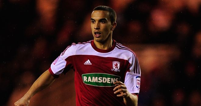 Seb Hines: The defender is now under contract with Boro for another three years