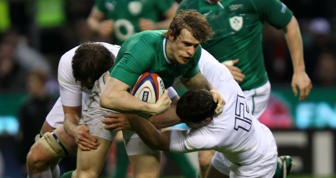 Andrew Trimble: Winger looking for Ireland to bounce back from disappointing tour of New Zealand