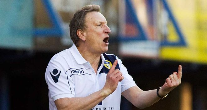 Neil Warnock: Tells players to keep their discipline