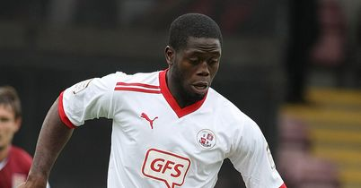 John Akinde: Makes way to Fratton Park