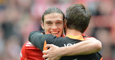 Carroll: Celebrates with Brad Jones