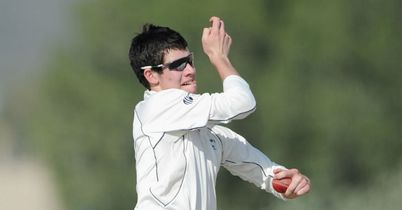 George Dockrell: Took six wickets as Somerset beat Middlesex