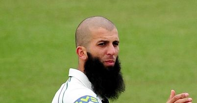 Moeen Ali: six wickets in each innings for Worcestershire all-rounder