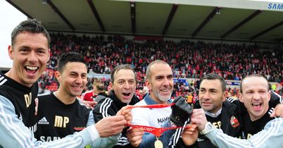 Di Canio: Celebrated League Two title win