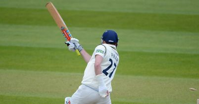 Richard Pyrah: Set for around six week out after breaking his left hand against Kent