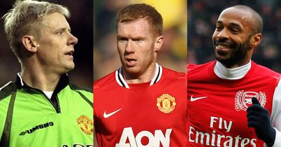 Schmeichel, Scholes and Henry: Feature in our selections