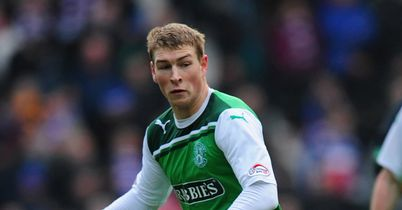 David Wotherspoon: His late strike led to Hibernian winner