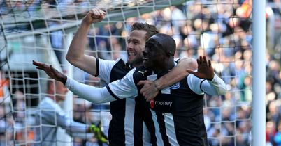 Cisse: Celebrates his selection for TEAMtalk's Top Men