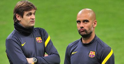Tito Vilanova: Delighted to see Pep Guardiola make his return to football