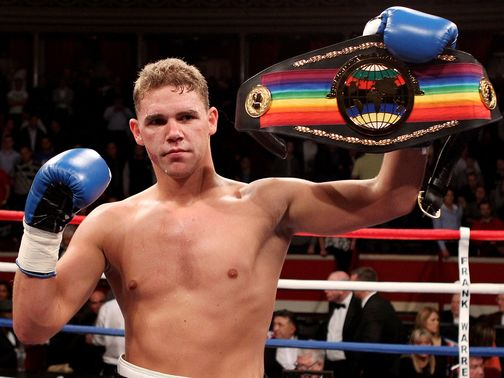 Saunders: Ready to go for the Brtish title