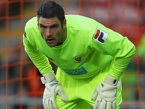 Matt Gilks helped Blackpool to a point