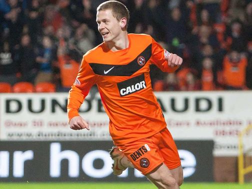 Scott Robertson pictured while at Dundee United