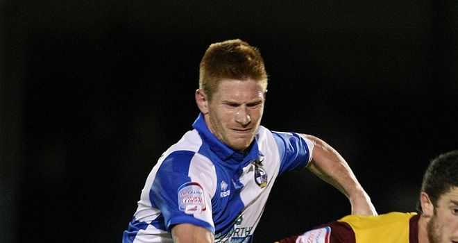 Matt Harrold: On target for Bristol Rovers